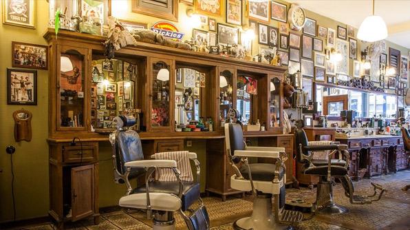 salon de barbier